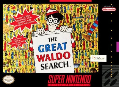 Great Waldo Search Cover Art