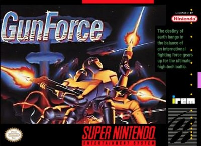 GunForce Cover Art