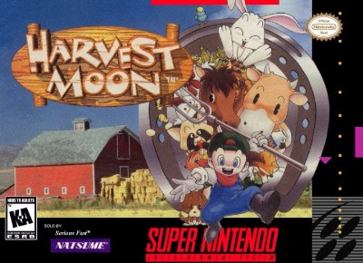 Harvest Moon Cover Art