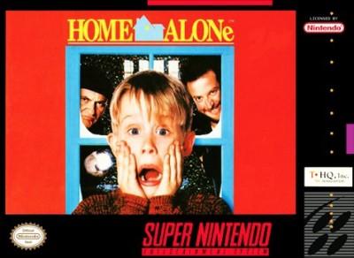 Home Alone Cover Art