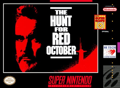 Hunt for Red October Cover Art