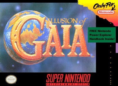 Illusion Of Gaia Cover Art
