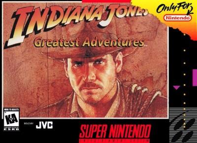 Indiana Jones' Greatest Adventures Cover Art