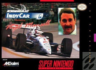 Newman Haas IndyCar featuring Nigel Mansell Cover Art