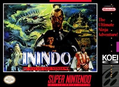 Inindo: Way of the Ninja Cover Art