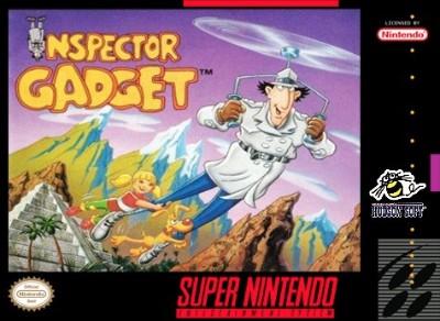 Inspector Gadget Cover Art