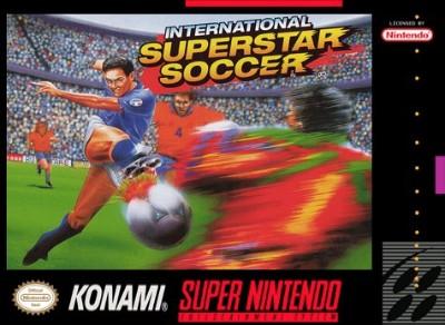 International Superstar Soccer Cover Art