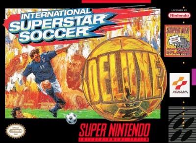 International Superstar Soccer Deluxe Cover Art