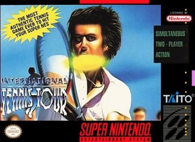 International Tennis Tour Cover Art