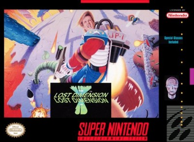 Jim Power: The Lost Dimension in 3D Cover Art