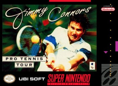 Jimmy Connors Pro Tennis Tour Cover Art