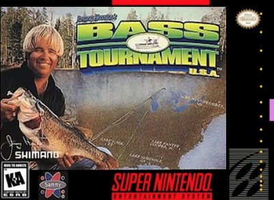 Jimmy Houston's Bass Tournament USA Cover Art