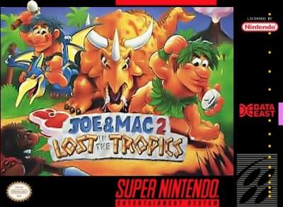 Joe & Mac 2: Lost in the Tropics Cover Art