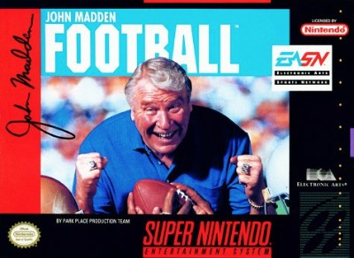John Madden Football Cover Art