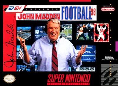 John Madden Football '93 Cover Art