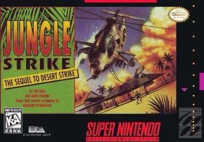 Jungle Strike: The Sequel to Desert Strike Cover Art