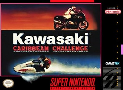 Kawasaki Caribbean Challenge Cover Art