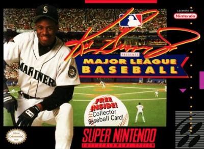 Ken Griffey Jr. Presents MLB Cover Art