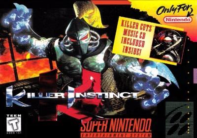 Killer Instinct Cover Art