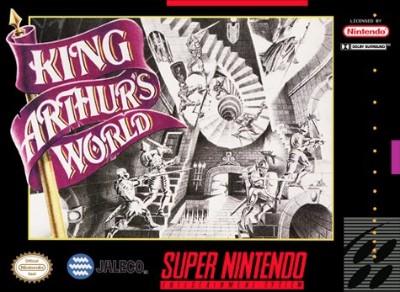 King Arthur's World Cover Art