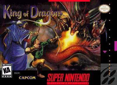 King of Dragons Cover Art