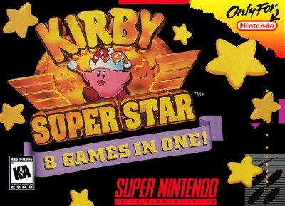 Kirby Super Star: 8 Games in One! Cover Art