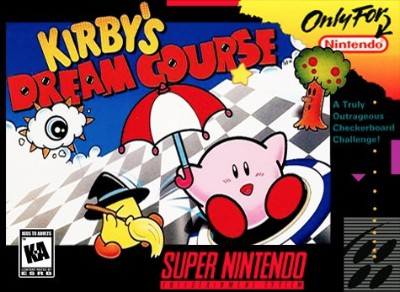 Kirby's Dream Course Cover Art