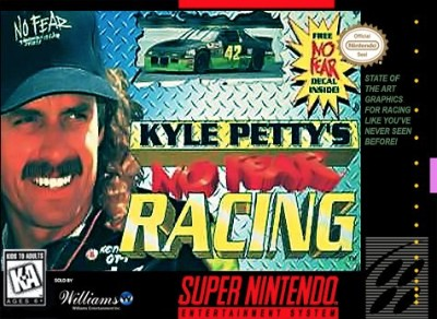 Kyle Petty's No Fear Racing Cover Art