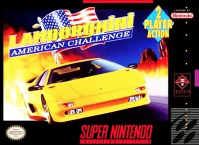 Lamborghini American Challenge Cover Art