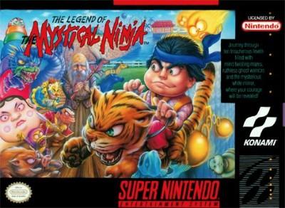 Legend of the Mystical Ninja Cover Art