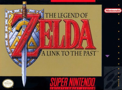 Legend of Zelda: A Link To the Past Cover Art