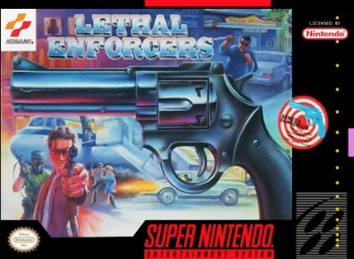 Lethal Enforcers Cover Art
