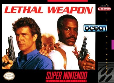 Lethal Weapon Cover Art