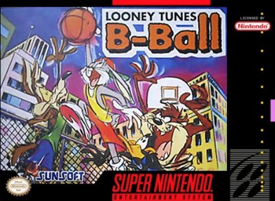 Looney Tunes B-Ball Cover Art