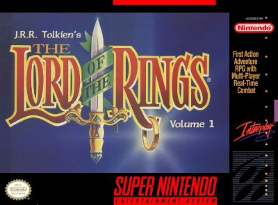 J.R.R. Tolkien's The Lord of the Rings Cover Art