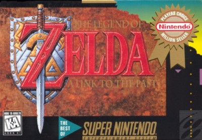 Legend of Zelda: A Link to the Past [Player's Choice] Cover Art
