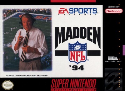 Madden NFL '94 Cover Art