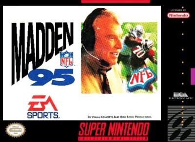 Madden NFL '95 Cover Art