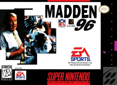 Madden NFL '96 Cover Art