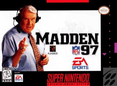 Madden NFL '97 Cover Art