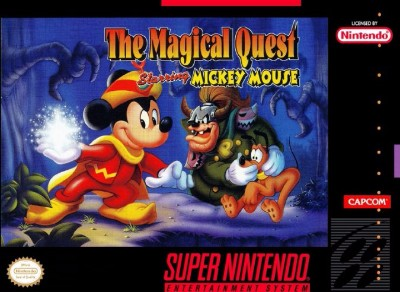 Magical Quest starring Mickey Mouse Cover Art
