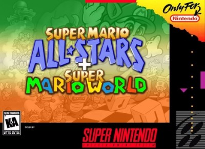 Super Mario All-Stars / Super Mario World Cover Art