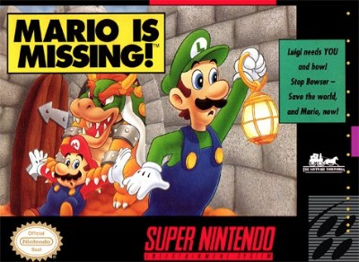 Mario Is Missing! Cover Art