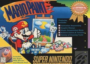 Mario Paint [Player's Choice] Cover Art