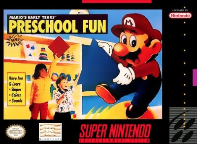 Mario's Early Years!: Pre-School Fun Cover Art