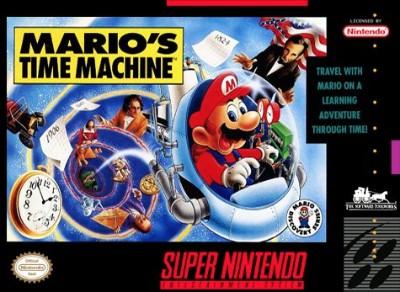 Mario's Time Machine Cover Art