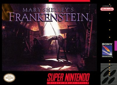 Mary Shelley's Frankenstein Cover Art