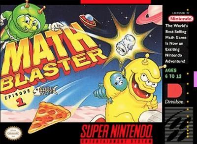 Math Blaster: Episode 1 Cover Art