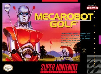 Mecarobot Golf Cover Art
