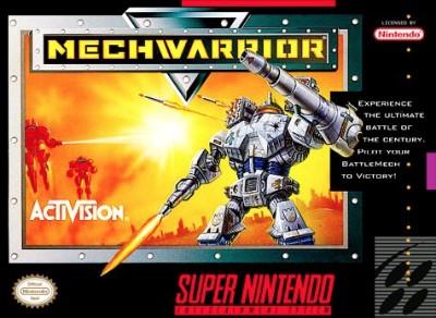 MechWarrior Cover Art